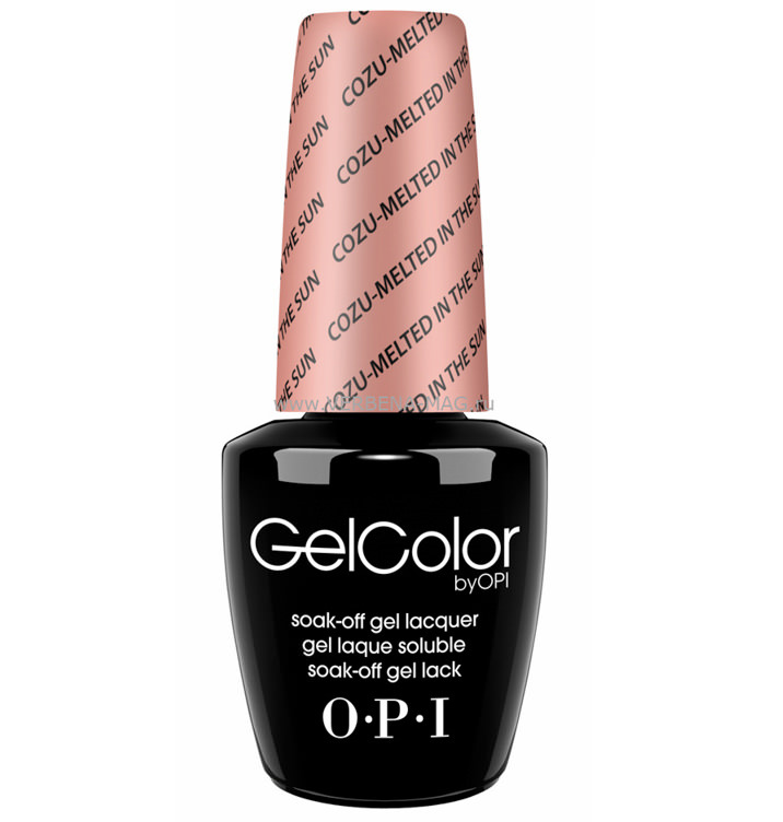 картинка Гель-лак GelColor Cozu-Melted in the Sun OPI 15 мл  от салона красоты BEAUTY BAR